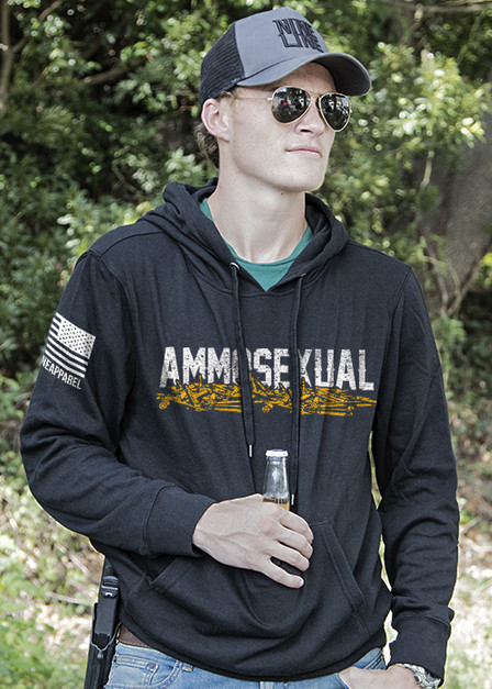 Light Weight Tailgater Hoodie - Ammosexual