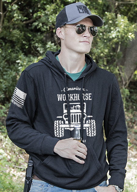 Light Weight Tailgater Hoodie - American Workhorse