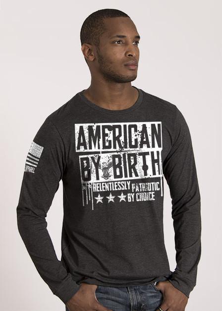 Men's Long Sleeve - American By Birth