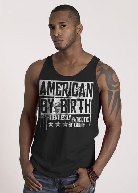 Jersey Tank - American By Birth