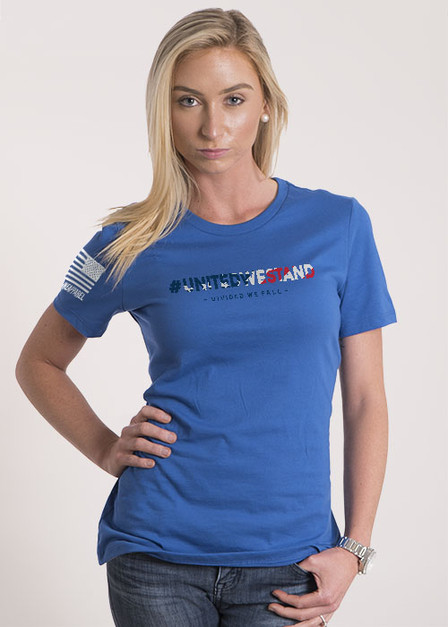 Women's Relaxed Fit T-Shirt - United We Stand/Divided We Fall