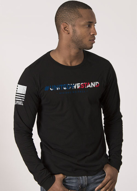Mens Long Sleeve - United We Stand/Divided We Fall