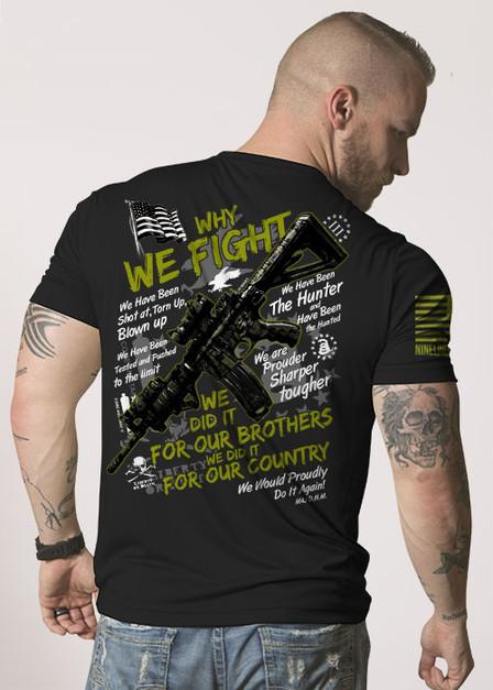 Moisture Wicking T-Shirt - Why We Fight III