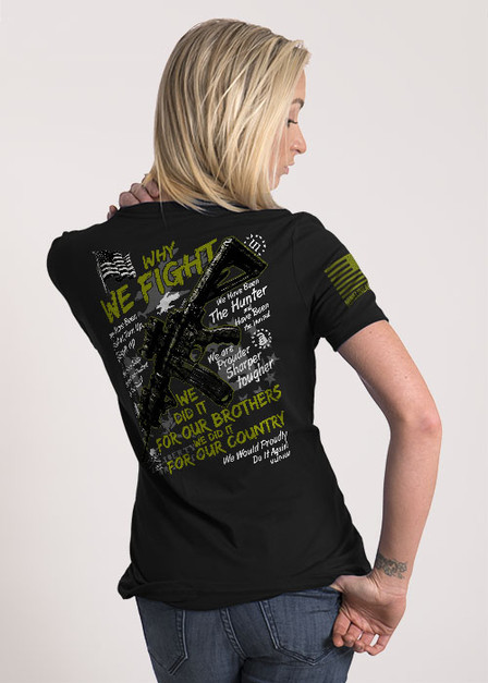 Women's Relaxed Fit T-Shirt - Why We Fight III