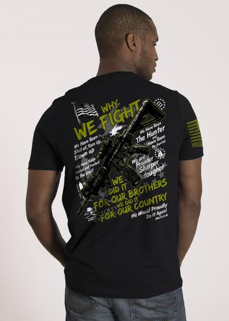Men's T-Shirt - Why We Fight III