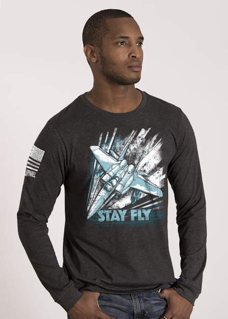 Men's Long Sleeve - Stay Fly