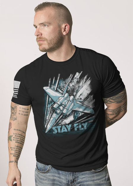 Moisture Wicking T-Shirt - Stay Fly