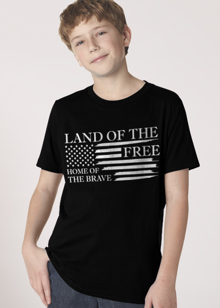 Home of the Brave - Youth T-shirt