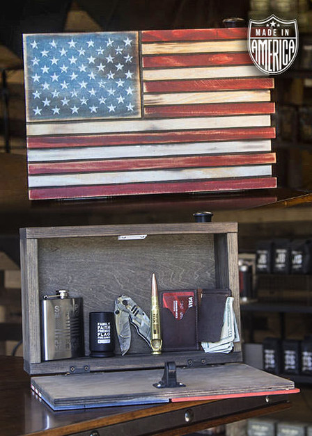 American Flag Privacy Box