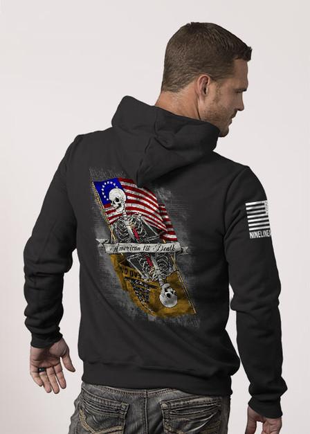 Hoodie - American til Death