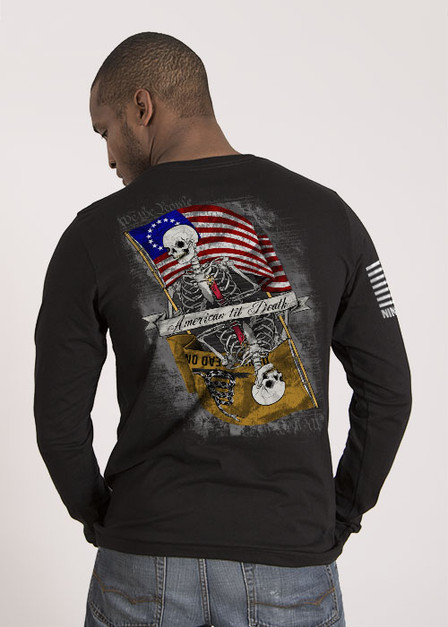 Men's Long Sleeve - American til Death