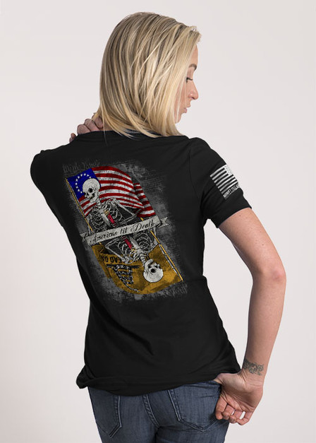 Women's Relaxed Fit T-Shirt - American til Death