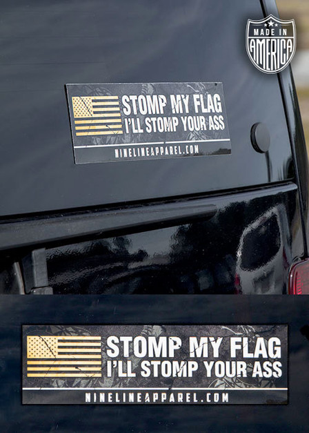 Bumper Sticker -  Stomp