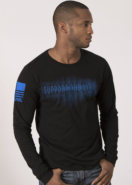 Men's Long Sleeve - Support The Line