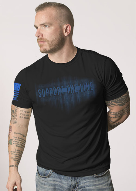 Moisture Wicking T-Shirt - Support The Line