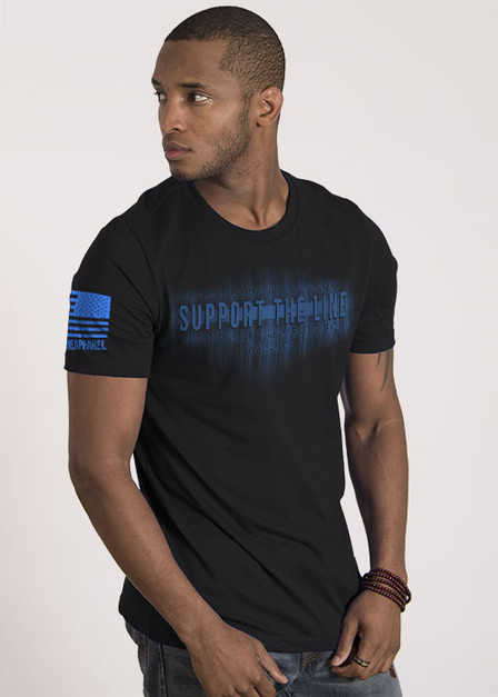 Men's T-Shirt - Support The Line
