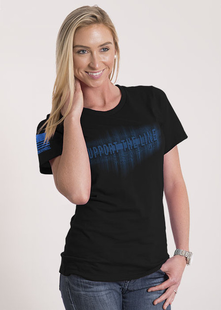 Women's Relaxed Fit T-Shirt - Support The Line