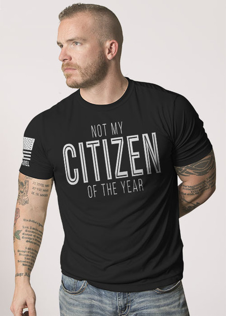 Moisture Wicking T-Shirt - Citizen Of The Year