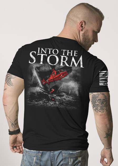Moisture Wicking T-Shirt - Into the Storm