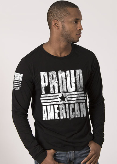 Men's Long Sleeve - Proud American