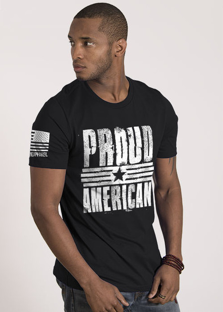 Men's T-Shirt - Proud American.