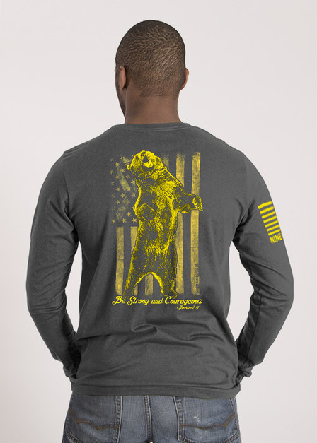Men's Long Sleeve - Bear Your Cause 2018