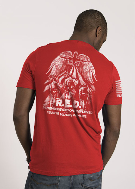 Men's T-Shirt - Helping Heroes Fly