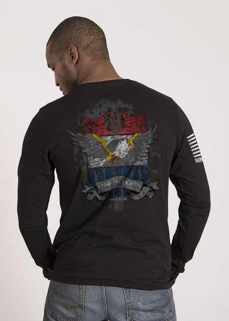 Men's Long Sleeve - One Nation