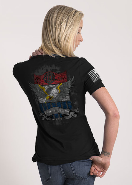 Women's Relaxed Fit T-Shirt - One Nation