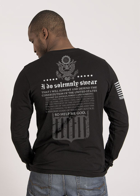 Men's Long Sleeve - The Oath