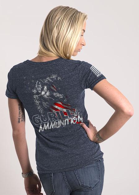 Women's Relaxed Fit T-Shirt - Gorilla Ammo