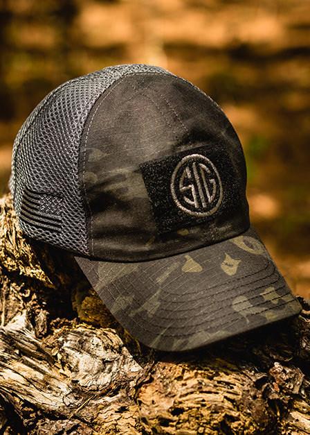 Sig Sauer - Dark American Made Mesh Back Hat