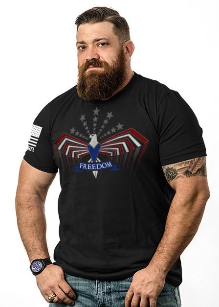 Men's T-Shirt - Freedom Flies