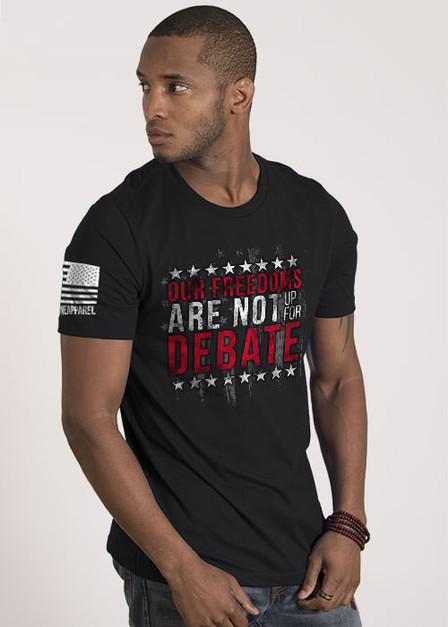 Men's T-Shirt — Freedom Debate