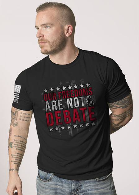 Moisture Wicking T-Shirt — Freedom Debate
