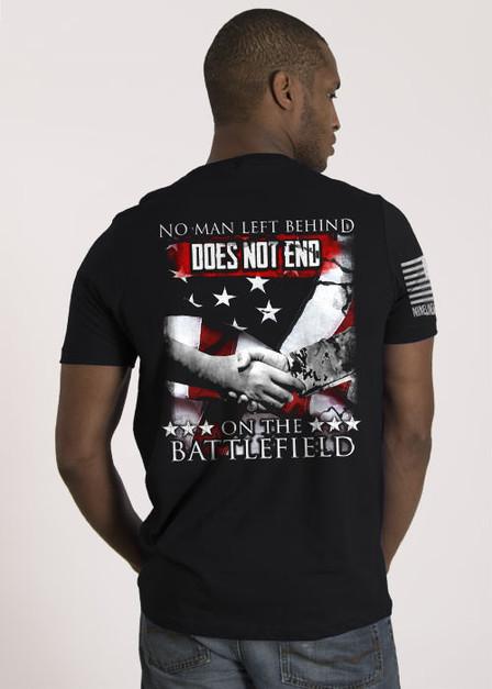 Men's T-Shirt — No Man Left Behind