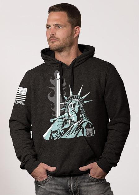 Hoodie -  Lady Liberty