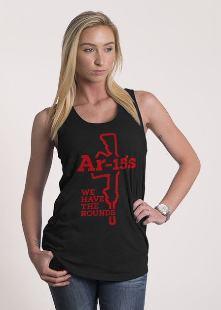 Women's Racerback Tank - We Have The Rounds