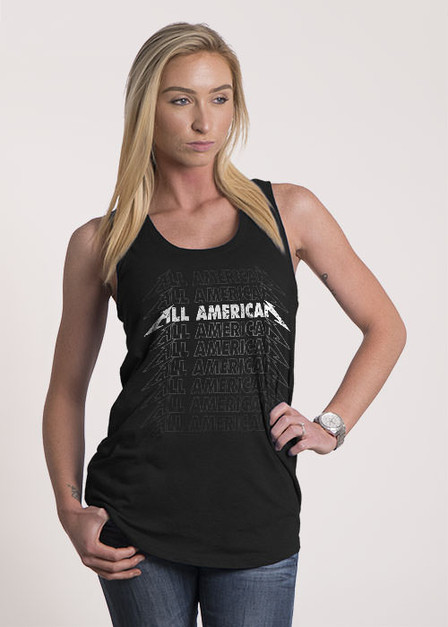 Women's Racerback Tank - All American Rock