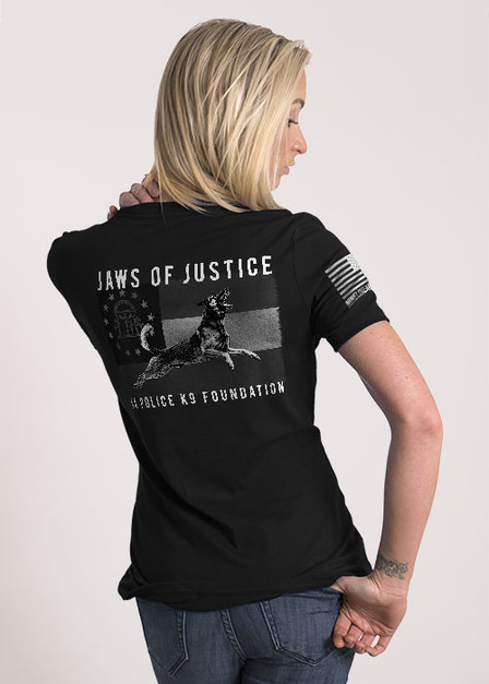 Women's Relaxed Fit T-Shirt - Jaws of Justice