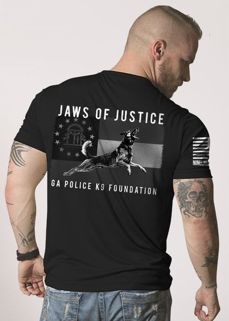 Moisture Wicking T-Shirt - Jaws of Justice