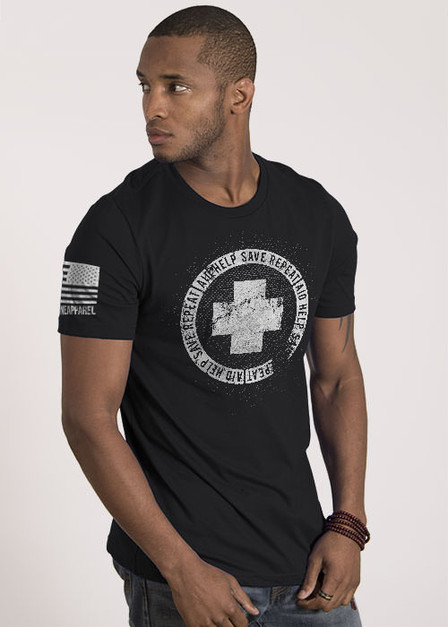 Men's T-Shirt - Aid Help Save Repeat