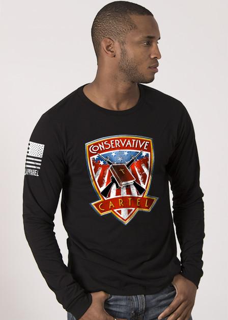 Men's Long Sleeve Shirt - Bad Hombres