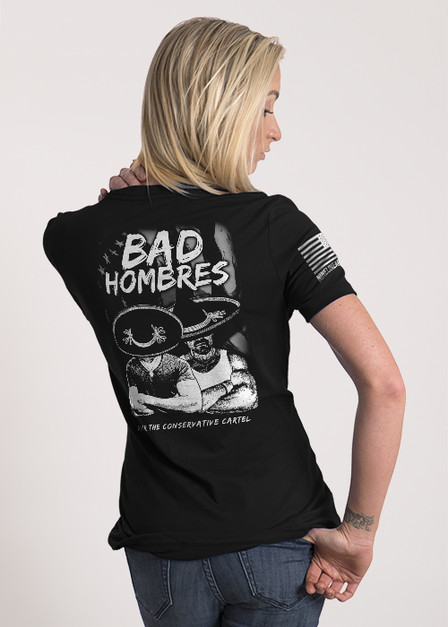 Women's Relaxed Fit T-Shirt - Bad Hombres
