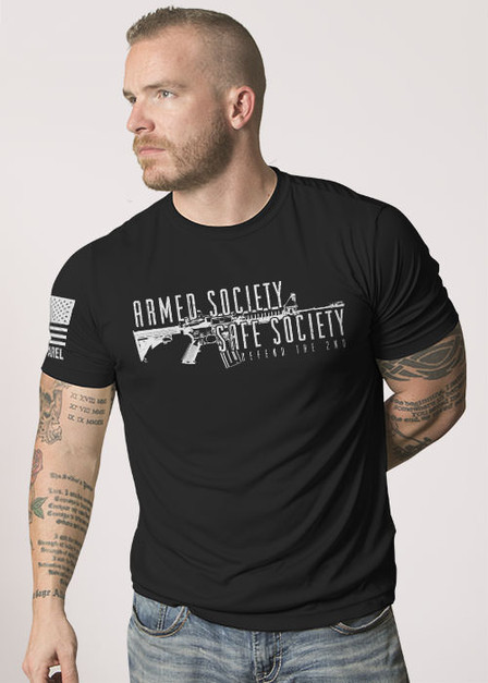 Moisture Wicking T-Shirt - Armed Society