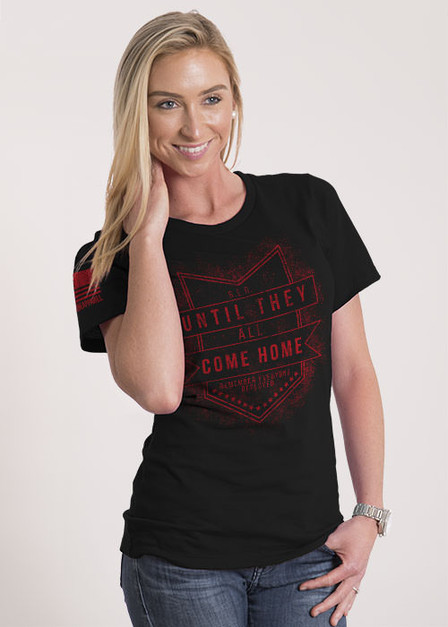 Women's Relaxed Fit T-Shirt -  Until They All Come Home