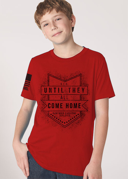Youth T-shirt - Until They All Come Home