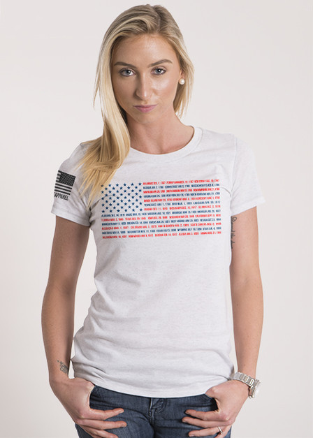Women's Relaxed Fit T-Shirt -  States