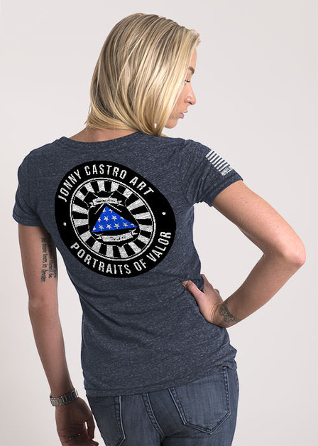 Women's Relaxed Fit T-Shirt -  Portrait of Valor