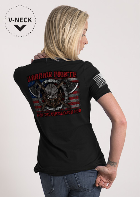 Relaxed Fit V-Neck Shirt - Warrior Pointe